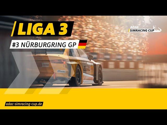 ADAC SimRacing Cup Liga 3 - Nürburgring