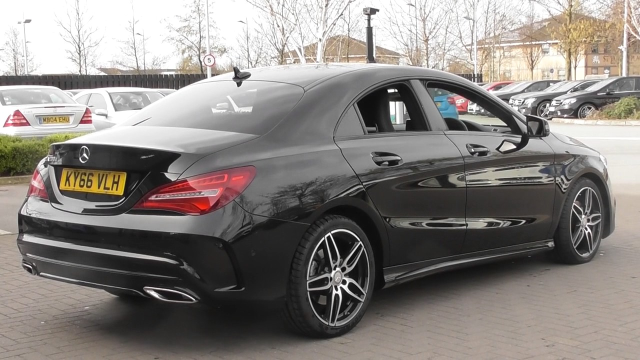 mercedes benz cla 200 d amg line u48317 youtube. Black Bedroom Furniture Sets. Home Design Ideas