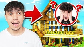 5 WAYS TO PRANK YOUR LITTLE BROTHER'S MINECRAFT HOUSE