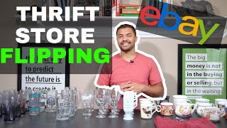 Thrift Store Flipping on eBay (How much do CUPS/Mugs sell for?!)
