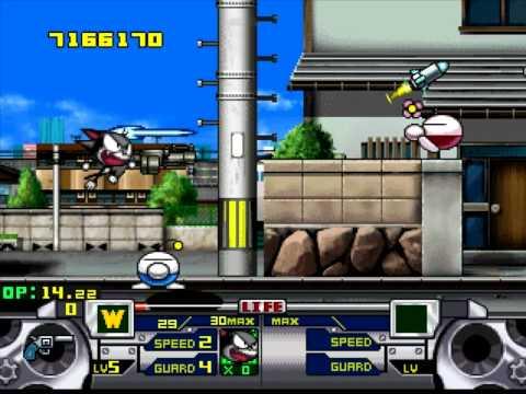 Kattekita Cyborg Kurochan (PSOne) - Ep.1 Gameplay