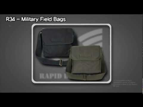 """Rapid Dominance"" R-34, Military Field Bags"