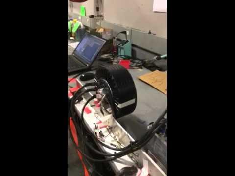 Emrax 228 First Test