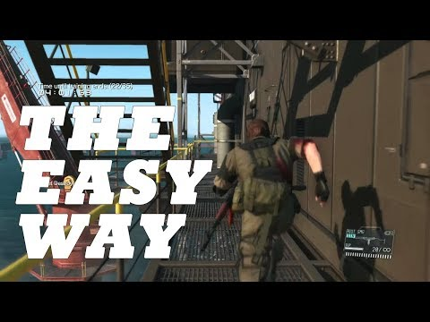 METAL GEAR SOLID V: THE PHANTOM PAIN Target Practice R&D Platform EASY PS4 2017