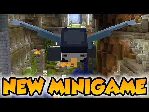 Minecraft Xbox - NEW Glide Mini-Game [Gameplay]