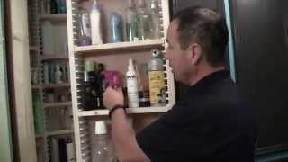 EZStudRack Bathroom Storage Cabinet