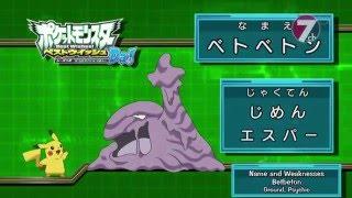 Pokemon Best Wishes! Season 2: Decolora Adventure! Dare da? (Muk)