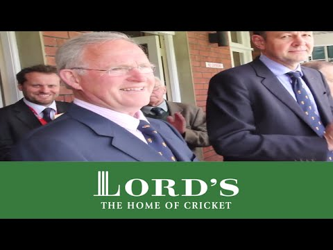 Dennis Amiss rings five-minute bell at lords - 2013 England vs New Zealand Test Series | MCC/Lord's