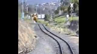 крушение поезда!! жестяк!