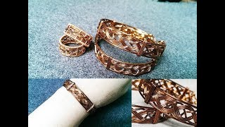 Men cuff bracelet -  unisex bracelet ( slow version ) 279