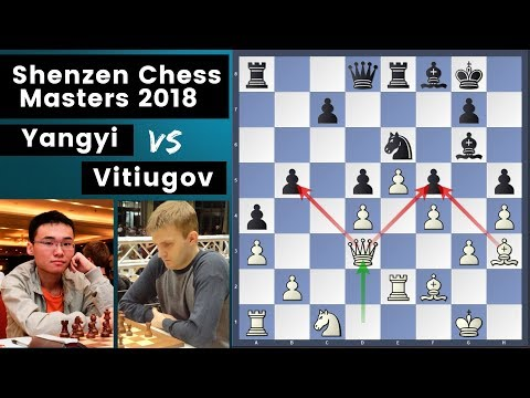 Top Ten - Yangyi vs Vitiugov | Shenzhen Chess Masters 2018 Rd.5