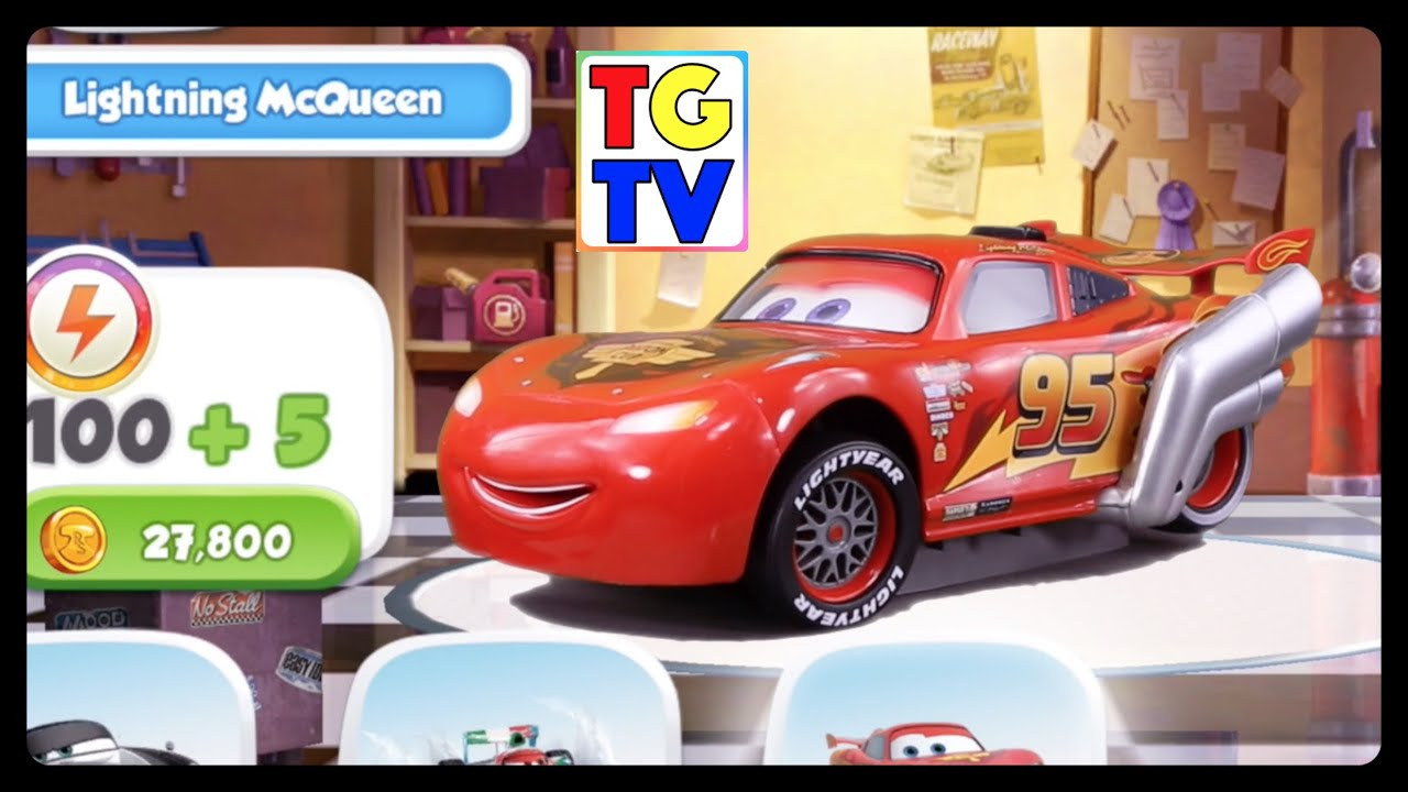 cars lightning mcqueen stage 4 4 fast as lightning youtube. Black Bedroom Furniture Sets. Home Design Ideas