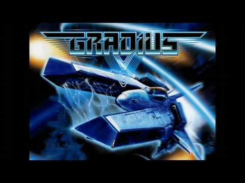 Gradius V Battle Ship - Stage 2 & 8 Original Sound Track ( HD )
