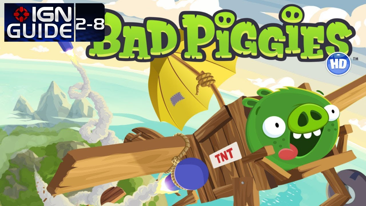 Bad Piggies: Rise and Swine Level 2-8 3-Star Walkthrough