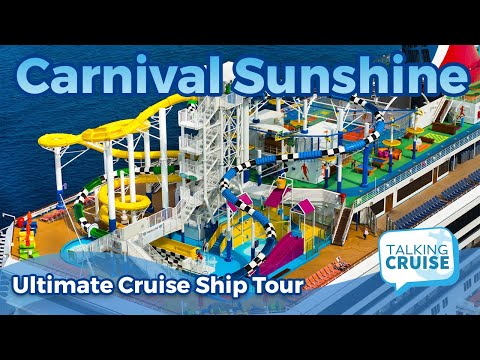 Carnival Sunshine - Ultimate Cruise Ship Tour (2019)