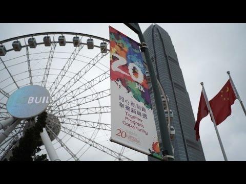 Hong Kong in Beijing's shadow 20 years after handover