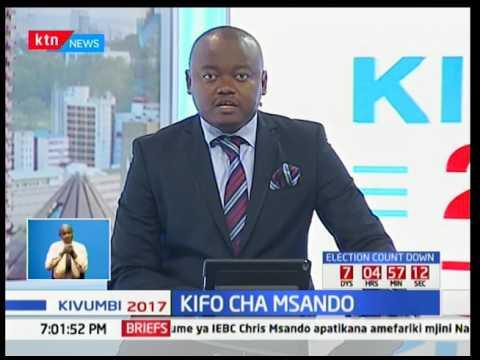 Mwili ya afisa wa IEBC Chris Msando aliyeripotiwa kutoweka yapatokana Kikuyu