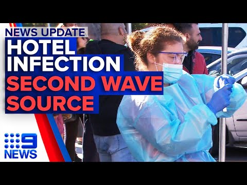 Sydney hotel quarantine infection, Melbourne's second wave source revealed | Nine News Australia