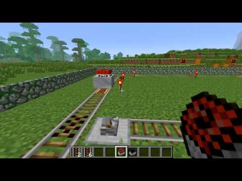 Minecraft 1.5 Blocks & Items: Activator Rail