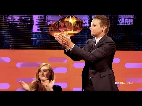 Download Youtube: Amy Adams  & Jeremy Renner Applaud The Most Savage Wedding Story - The Graham Norton Show