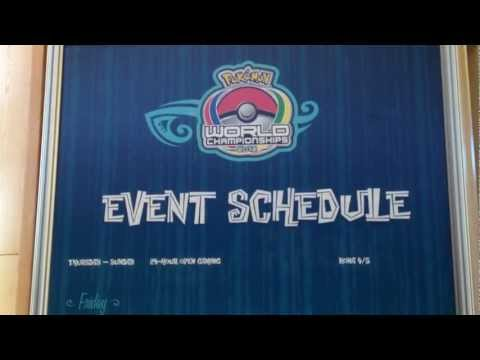 Pokemon World Championships 2012 Day -1 - Schedule of Events