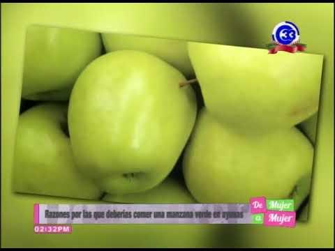De ayunas beneficios la en manzana verde