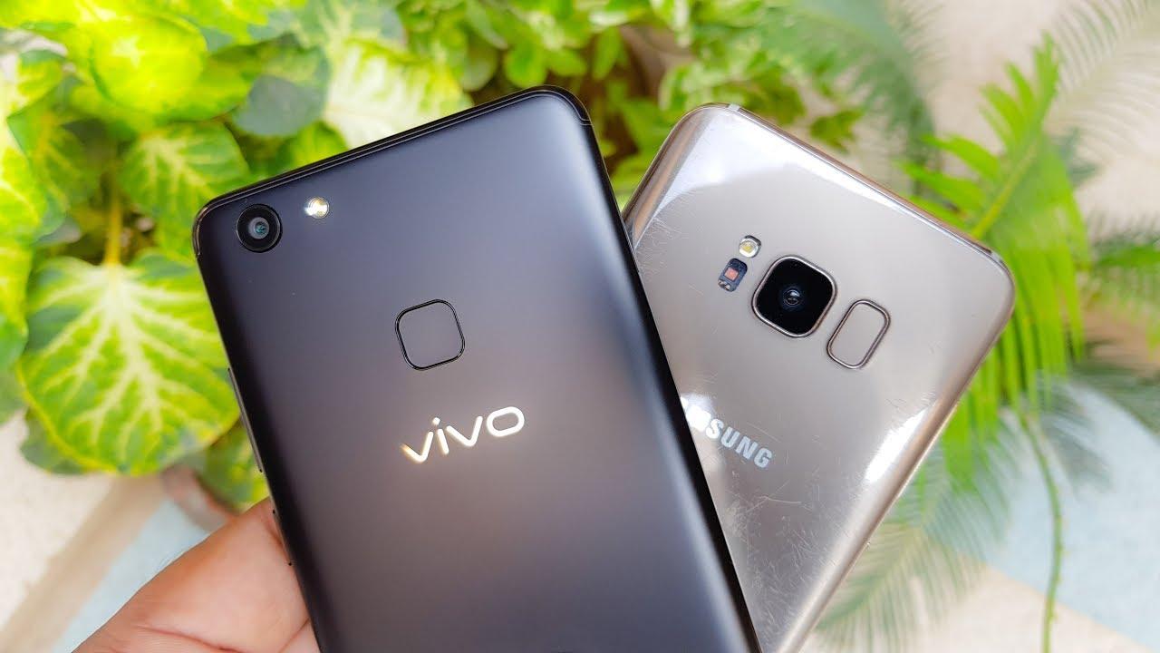 Vivo V7 Plus Vs Samsung S8 Camera Comparison Best Mobile Phone