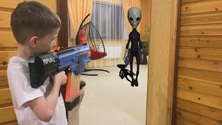 The invasion of aliens Bogdan avenges the abduction Богдан мстит за похищение инопланетянам