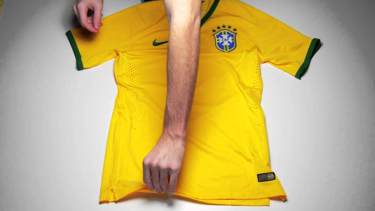 81724afdb2f Nike Brazil Match Home Jersey - World Cup 2014 - YouTube