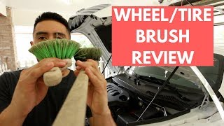 Tire & Wheel Brush Review -  One of the Most Used Tool - Detailing Review