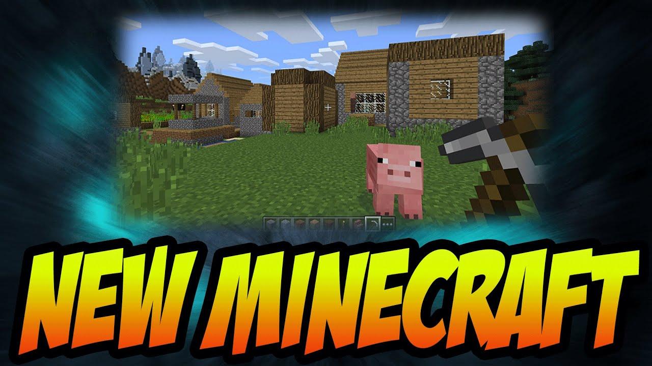 "Minecraft Windows 10 Edition Beta!  ""brand New Minecraft"