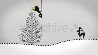 After Effects Project Files Inkman presents Xmas New year& 39 s Greetings AE Hive