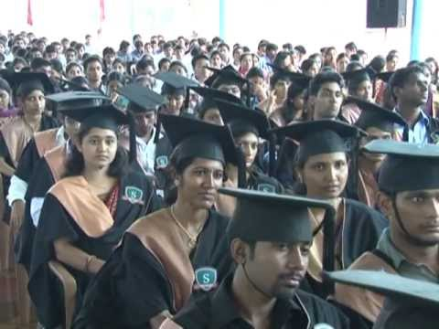 Graduation Day-2012 at Sahyadri College of Engineering & Management,Mangalore-Part1