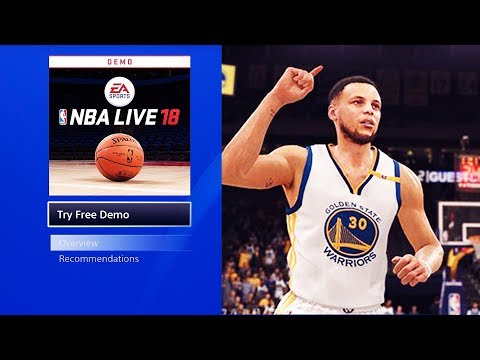 HOW TO PLAY NBA LIVE 18 THE ONE GAMEPLAY DEMO EARLY! STILL WORKS!