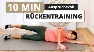 Rücken trainieren & gesund halten in nur 10 Min. | Übungen jetzt mitmachen (anspruchsvoll)