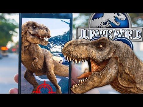LET'S GET THAT TREX! EPIC DINOSAURS! - Jurassic World Alive! #2 (Jurassic GO)