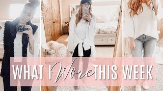 👗WHAT I WORE THIS WEEK | Outfit Diary 👗
