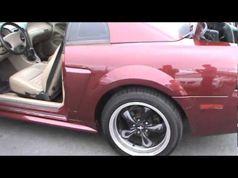 2004 FORD Mustang GT 5-Speed 40th Anniversary Mach 1000 Audio