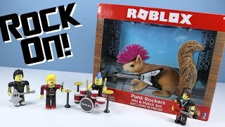 ROBLOX Series 2 Punk Rockers Mix & Match Set and Musical Chairs Gaming