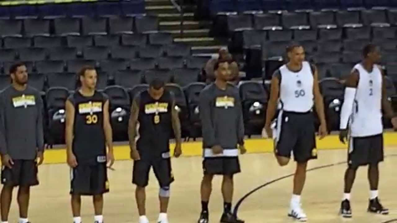 2010 GOLDEN STATE WARRIORS Team Introductions