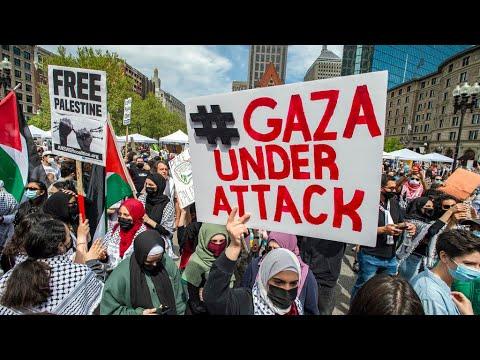 مظاهرات حاشدة في عدة مدن حول العالم دعما للفلسطينيين  - نشر قبل 3 ساعة