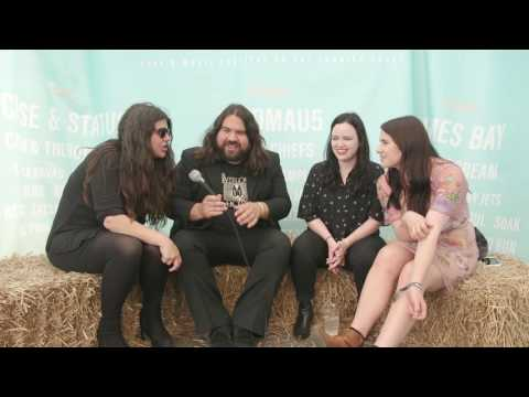 Boardmasters 2016 - Backstage with The Magic Numbers