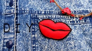 Стильна брошка-губи Соні Есьман DIY/a brooch Sonya Esman lips