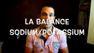 La balance sodium/potassium