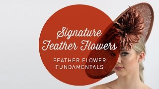 Hat Classes - Feather Flower Fundamentals