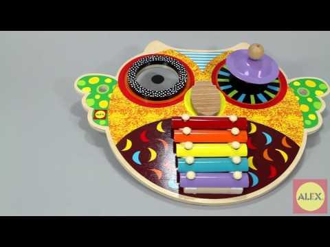 ALEX TOYS Musical Owl 1497O
