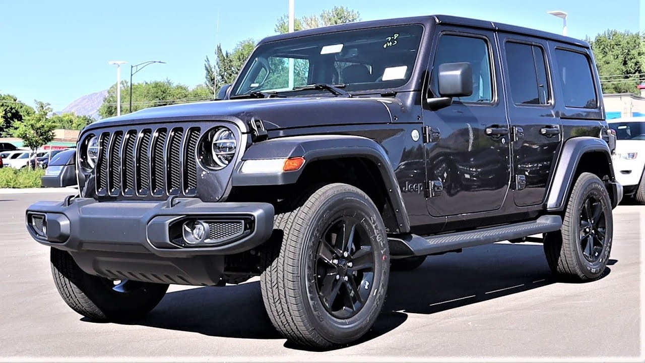 2020 Jeep Wrangler Altitude Is This Really A Off Road Suv