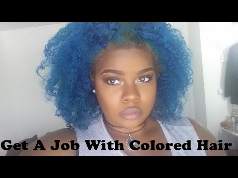 Getting A Job With Dyed Hair
