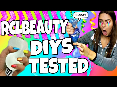 Thumbnail: RCLBEAUTY101 DIYS & LIFE HACKS TESTED!!