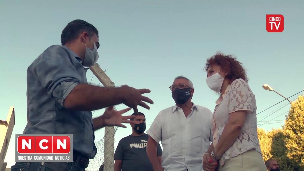 CINCO TV - Julio Zamora destacó el acompañamiento del Municipio en un barrio en El Talar sur